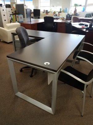 Compel Pivit O Open Leg Desk Boss Office Products