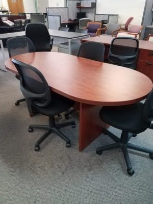 Preowned Compel X Laminate Conference Table Boss Office - 36 conference table