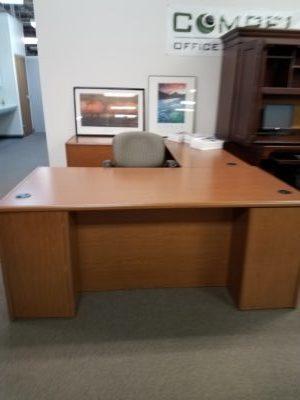 Pre Owned Hon U Shape Laminate Desk